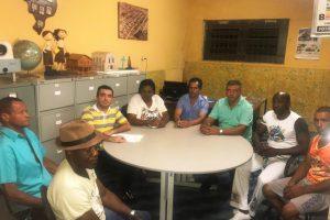 SECRETÁRIO MUNICIPAL DE CULTURA DE CAMPOS ALTOS SE REÚNE COM REPRESENTANTES DAS GUARDAS DE CONGADO DO MUNICÍPIO